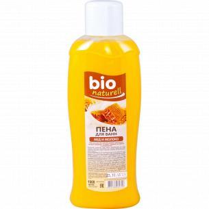 Пена для ванны Bio naturell Мед и молоко