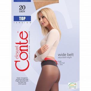 Колготы Conte Top 20 Den, р.4, Bronz