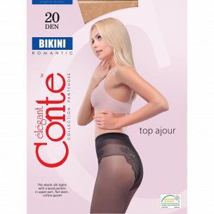 Колготы Conte Bikini 20 Den, р.4, Bronz