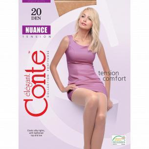 Колготы Conte Nuance 20 Den, р.4, Natural