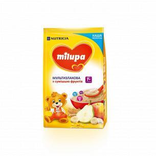 Каша Milupa мультизлаковая со смесью фруктов