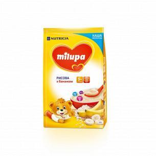 Каша Milupa рисова з бананом