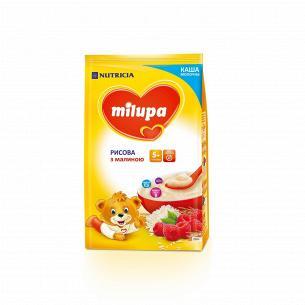 Каша Milupa рисовая с малиной