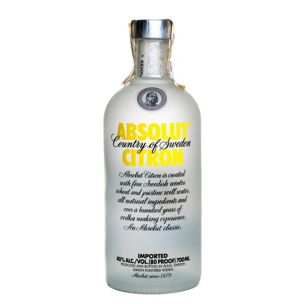 Водка Absolut Citron