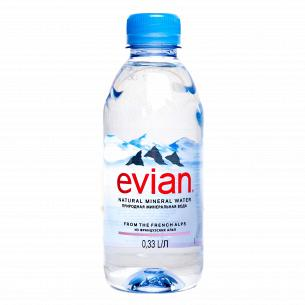 Вода минеральная Evian 0,33л
