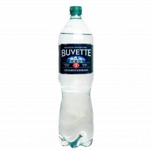 Вода минеральная Buvette №7 лечебно-столовая сильногазированная
