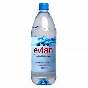Вода минеральная Evian 1л