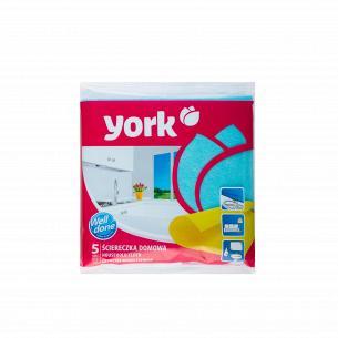 Тряпка для уборки дома York 5шт