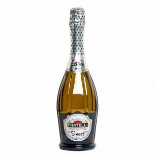 Вино игристое Fratelli Sweet белое сладкое мускатное