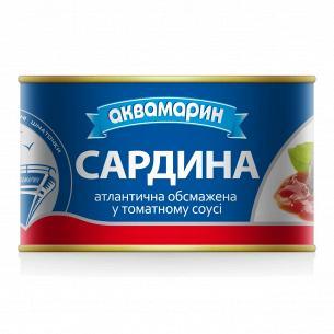 Сардина Аквамарин обжаренная в томатном соусе