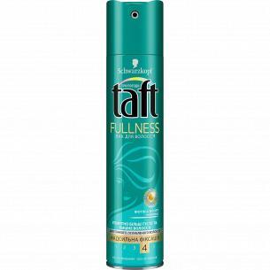 Лак для волосся Taft Fullness