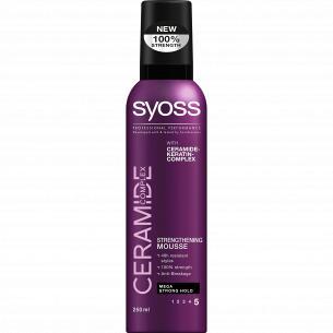 Мус для волос Syoss Ceramide complex