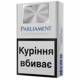 Сигареты Parliament Platinum