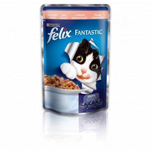 Корм для котов Felix с лососем