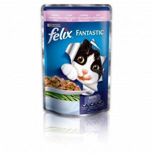 Корм для котов Felix с форелью и фасолью