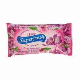 Салфетки влажные Superfresh Микс