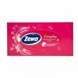 Салфетки косметические  Zewa Everyday в коробке