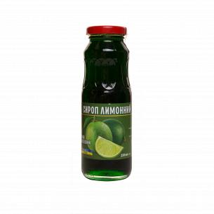 Сироп КХК Лимонный зеленый неосветленный