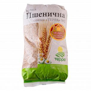 Крупа пшеничная Терра озимая