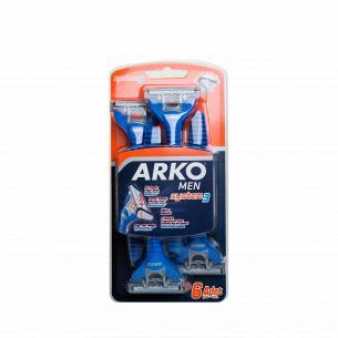 Станки для бритья Arko T3 тройное лезвие