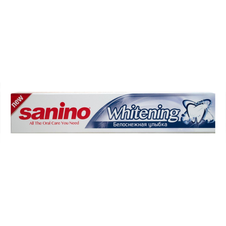 Паста зубная Sanino Белоснежная улыбка