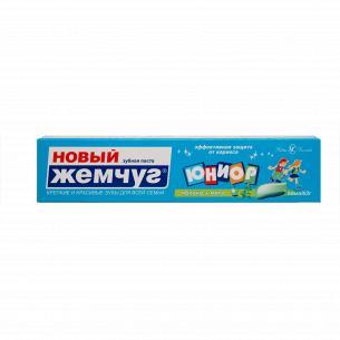 Паста зубная Новый Жемчуг Юниор Яблоко-мята