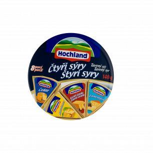 Сыр плавленый Hochland Четыре сыра 45%