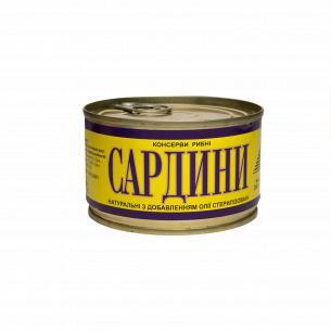 Сардина Креон натуральная с добавлением масла №5 ключ