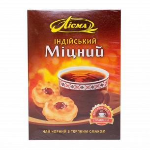 Чай черный Лисма Индийский крепкий листовой