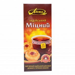 Чай черный Лисма Индийский крепкий