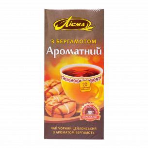 Чай черный Лисма Ароматный с бергамотом
