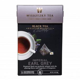 Чай черный Wissotzky Tea Imper Earl Grey с ароматом бергамота
