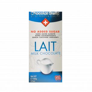 Шоколад молочный Chocolat Stella без сахара