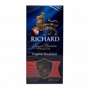 Чай чорний Richard English...