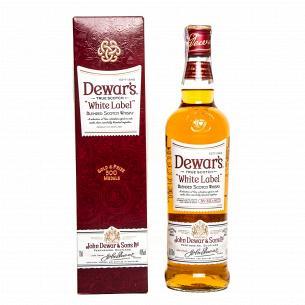 Виски Dewar`s white