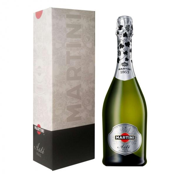 Вино игристое Martini Asti белое полусладкое в коробке