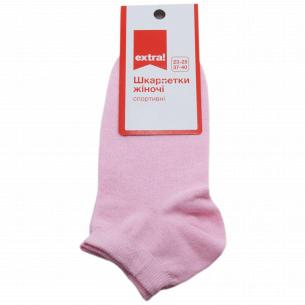 Носки женские Extra! спорт розовый р.23-25