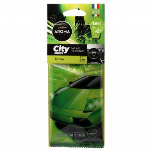 Ароматизатор Aroma Car City лимон