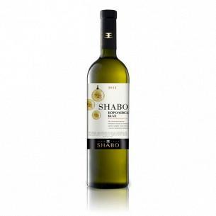 Вино Shabo Королевское белое полусладкое