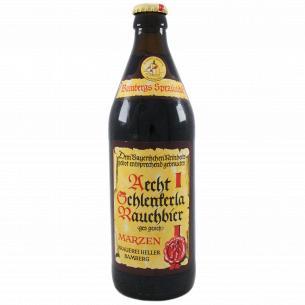 Пиво Schlenkerla Aecht Rauchbier Marzen копченое