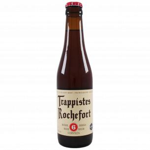 Пиво Trappistes Rochefort 6 темное солодовое нефильтрованное