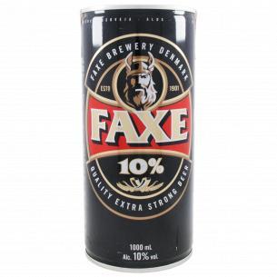Пиво Faxe 10% светлое фильтрованное