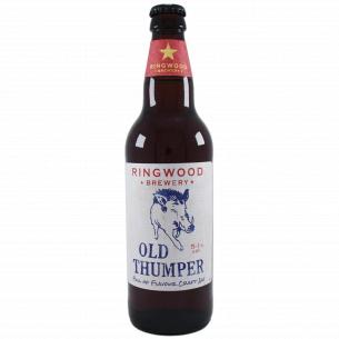 Пиво Ringwood Old Thumper темное фильтрованное
