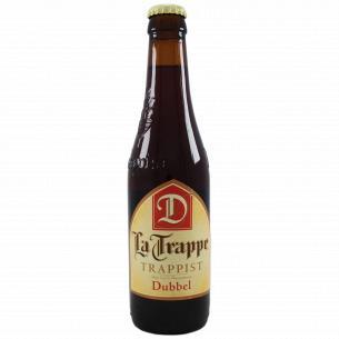 Пиво La Trappe Dubbel темное нефильтрованное