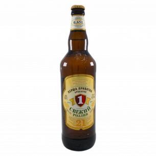 Пиво ППБ Свіжий розлив світле