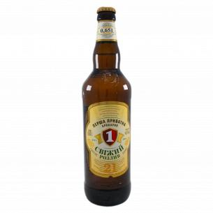 Пиво ППБ Свежий разлив светлое