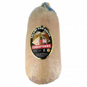 Колбаса Casaponsa Салями Таннел с сыром c/в