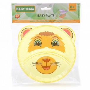 Тарелка Baby Team детская секционная 6000