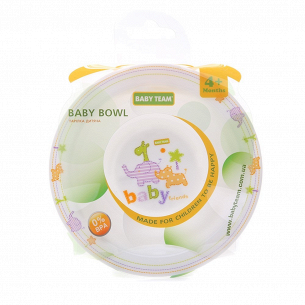 Тарелка детская Baby Team 6005