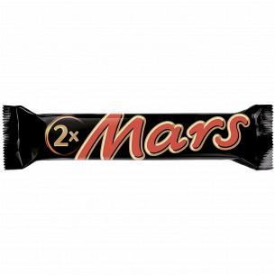 Батончик Mars нуга/карамель в молочном шоколаде